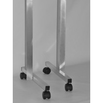 Rolling Horizontal Wheel Stand Pair