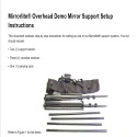 Overhead Demonstration Glassless Mirror Stands Assembly Instructions