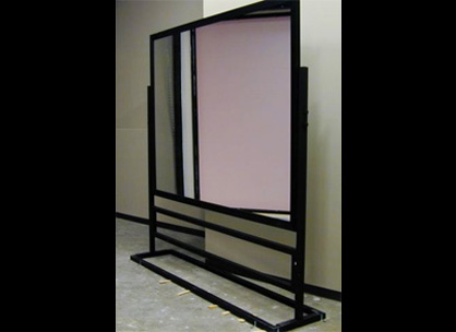 Glassless mirrors shatterproof mirrors mylar mirrors and for Mirror projector
