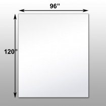 "Mirrorlite® Surface Mounted Glassless MEGA Mirror 96"" x 120"" x 1 7/16"""