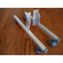 Rolling Vertical Wheel Stand Pair