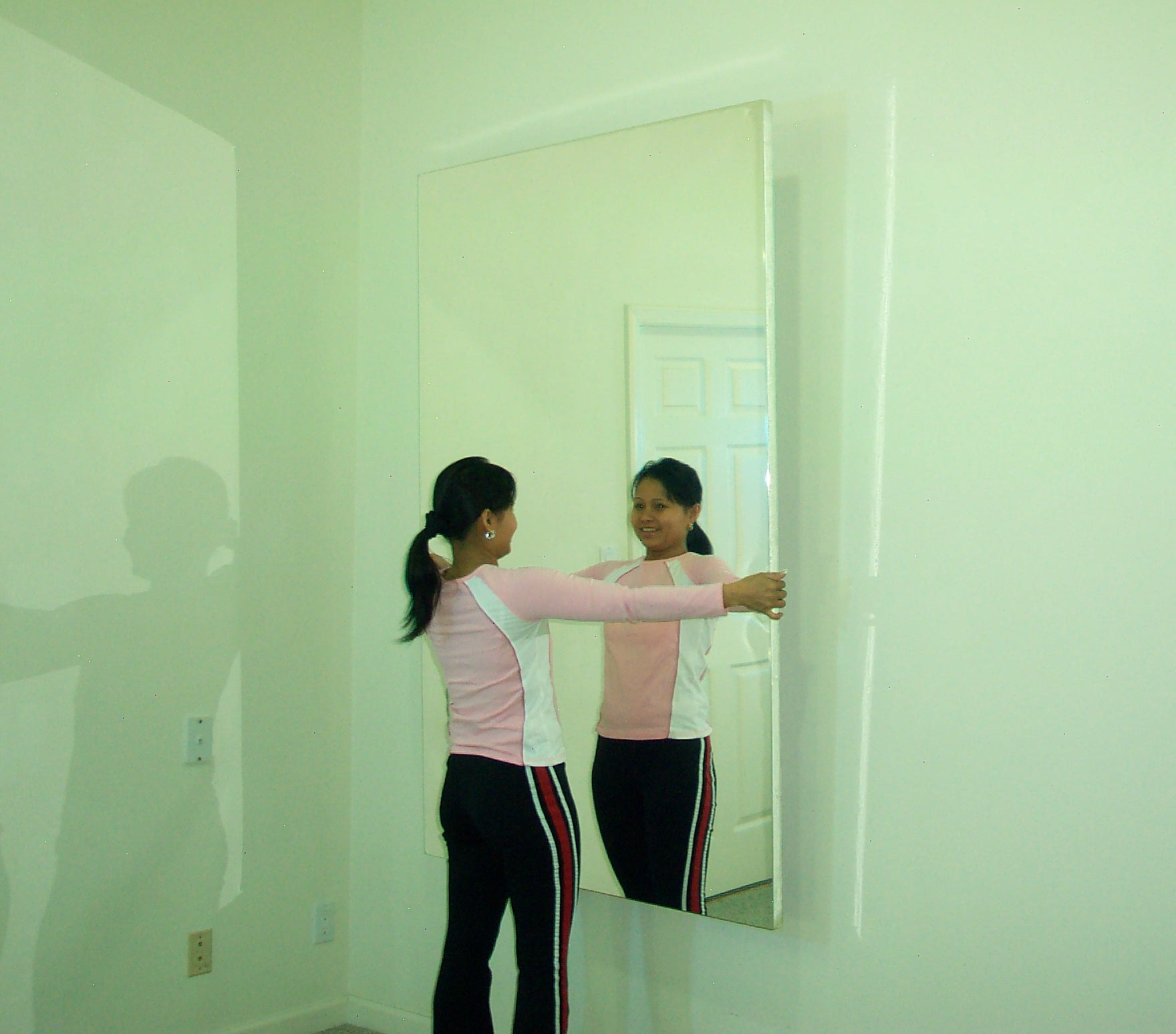 Surface Mounted Glassless Mirrors Wall Or Ceiling