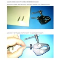 Overhead Demonstration Glassless Mirror Angle Adjustment Clamp Retrofit